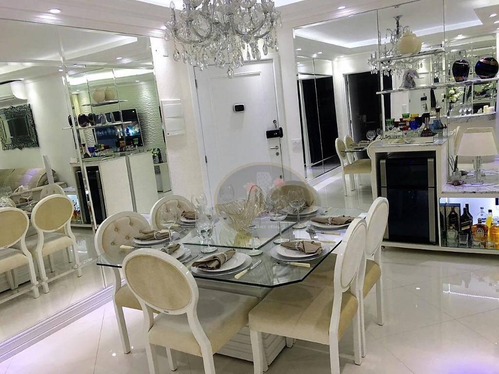 Apartamento com 3 dormitórios à venda, 84 m² por R$ 580.000,00 - Marapé - Santos/SP