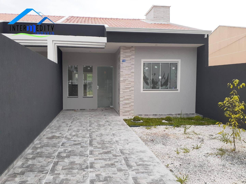 Casa com 3 dormitórios à venda, 58 m² por R$ 180.000,00 - Nações - Fazenda Rio Grande/PR