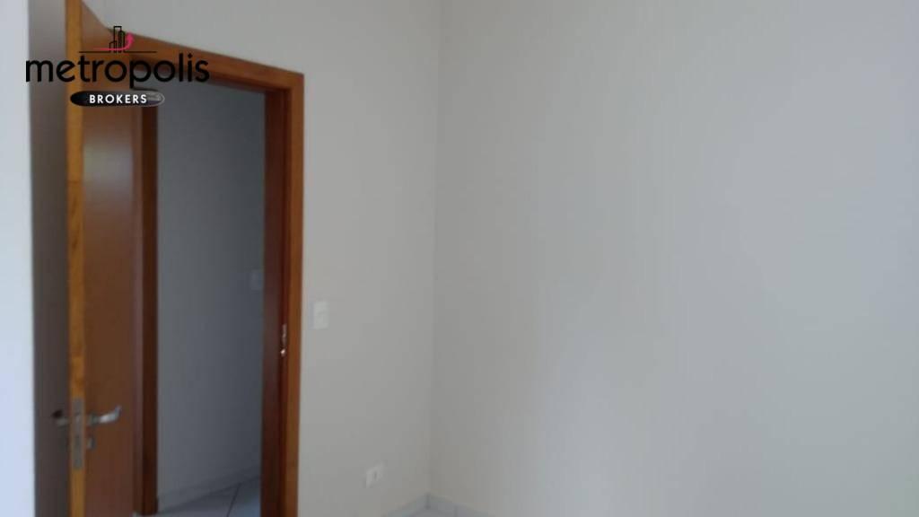 Apartamento com 2 dormitórios para alugar, 47 m² por R$ 1.600/mês - Campestre - Santo André/SP