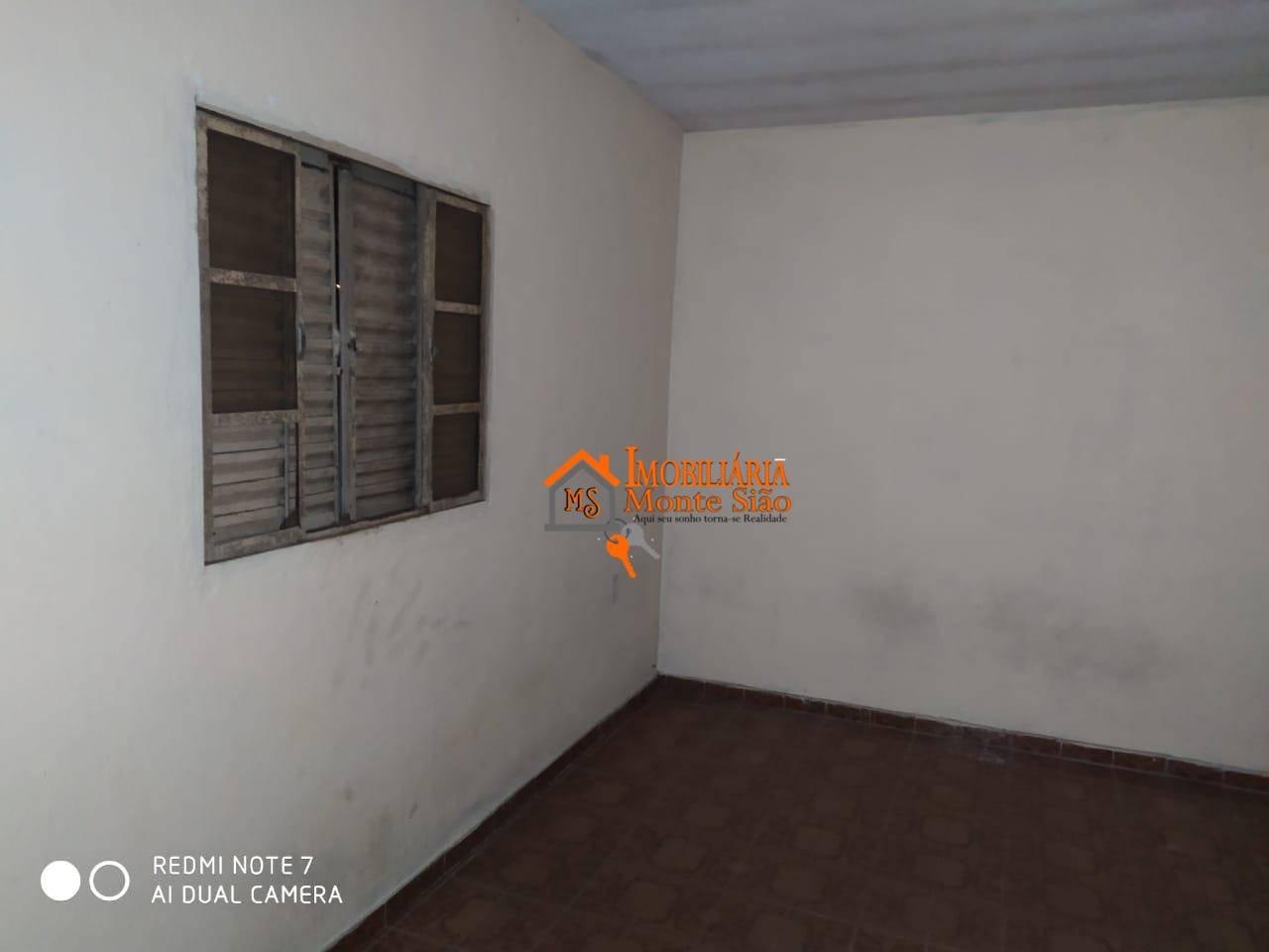 Sobrado com 1 dormitório para alugar por R$ 440,00/mês - Recreio São Jorge - Guarulhos/SP