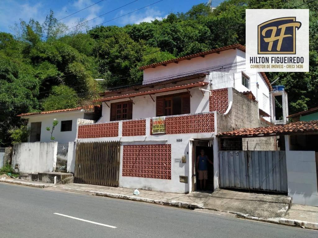 Casa com 6 dormitórios à venda por R$ 350.000 - Cabo Branco - João Pessoa/PB