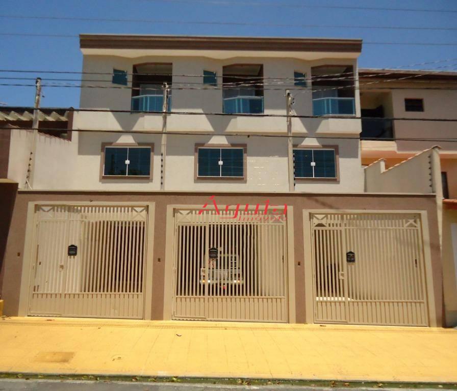 Sobrado com 3 dormitórios à venda, 130 m² por R$ 478.000 - Parque Novo Oratório - Santo André/SP