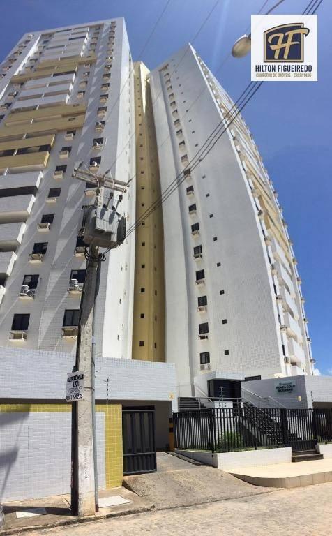 Apartamento com 3 dormitórios para alugar, 100 m² por R$ 1.600/ano - Bessa - João Pessoa/PB