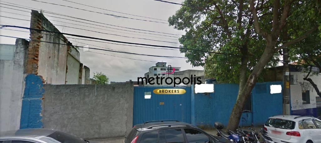 Terreno à venda, 1134 m² por R$ 3.000.000 - Centro - São Caetano do Sul/SP