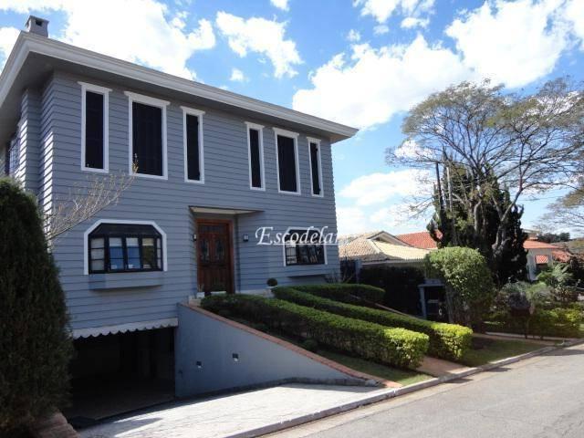 Casa com 4 dormitórios à venda, 474 m² por R$ 2.450.000 - Residencial Seis (Alphaville) - Santana de Parnaíba/SP