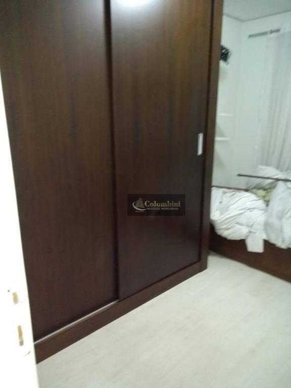 Apartamento cobertura duplex para alugar por R$ 1.700/mês - Centro - Santo André/SP
