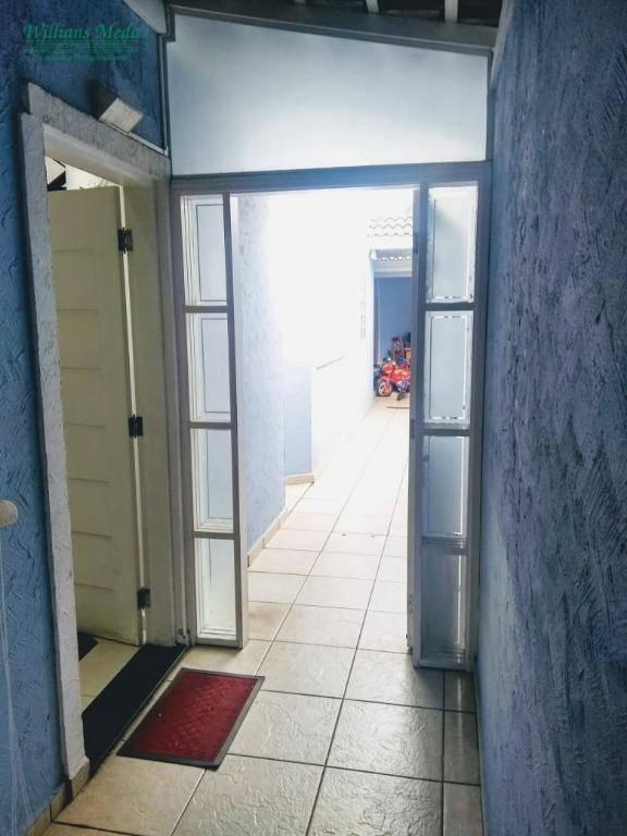 Sobrado com 3 dormitórios à venda, 125 m² por R$ 650.000 - Parque Renato Maia - Guarulhos/SP