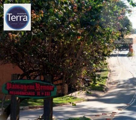 Terreno  residencial à venda, Paisagem Renoir II, Granja Viana.