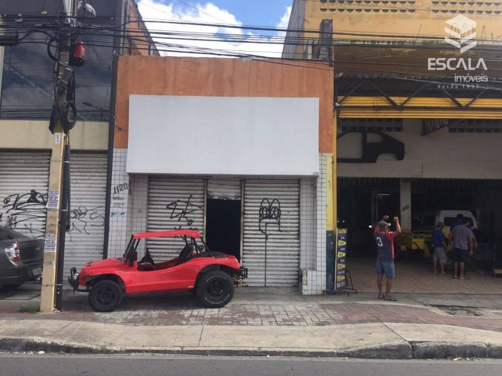 Ponto comercial à venda, 218 m² por R$ 250.000 - São Gerardo - Fortaleza/CE