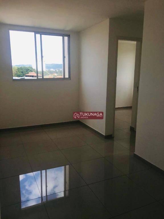 Apartamento com 2 dormitórios para alugar, 45 m² por R$ 950,00/mês - Gopoúva - Guarulhos/SP