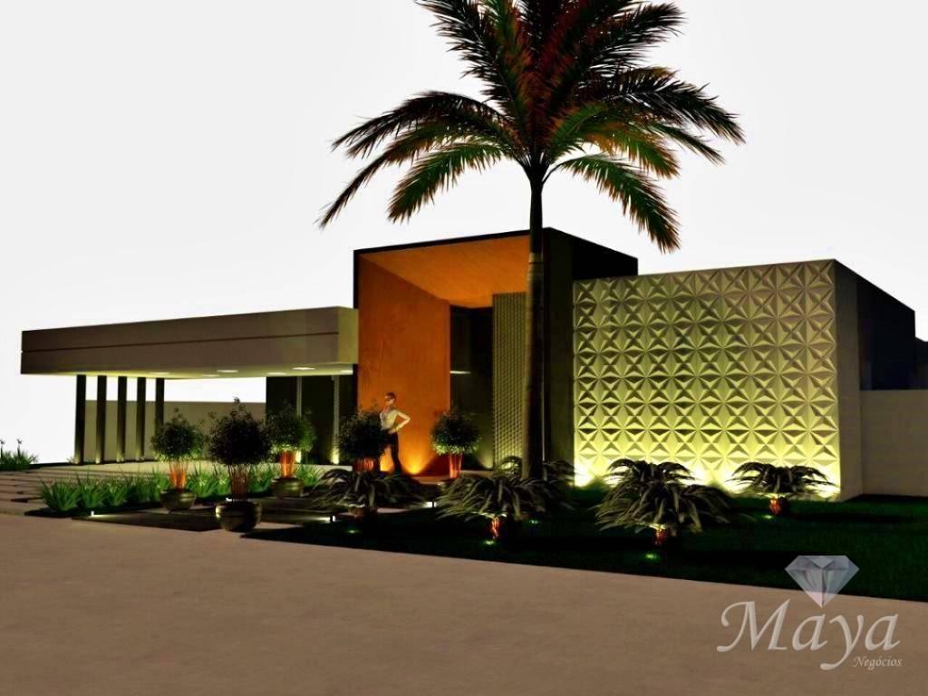 Casa 4 Suítes, 430 m² c/ lazer no Condomínio Polinésia Resort