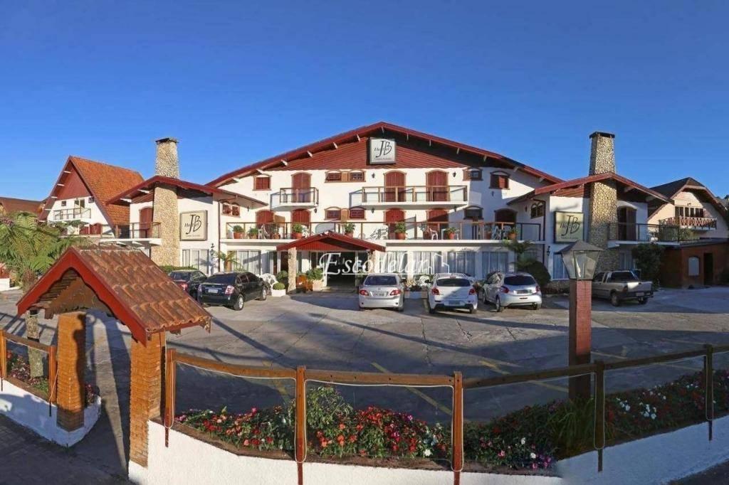 Hotel comercial à venda, Vila Capivari, Campos do Jordão.