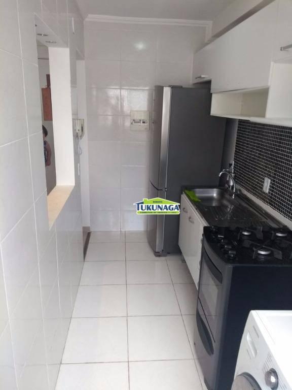 Apartamento com 2 dormitórios para alugar, 47 m² por R$ 1.500,00/mês - Ponte Grande - Guarulhos/SP