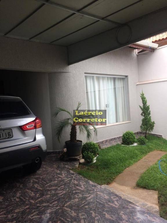 Casa com 2 dormitórios à venda, 85 m² por R$ 390.000 - Jardim Palmeiras - Limeira/SP (mobiliada)
