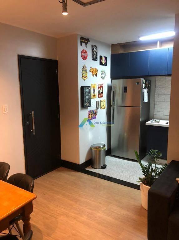 Apartamento Designer moderno todo reformado 2 dormitórios, 1 vaga, lazer completo no centro da cidade de Diadema ótima localização e valor.