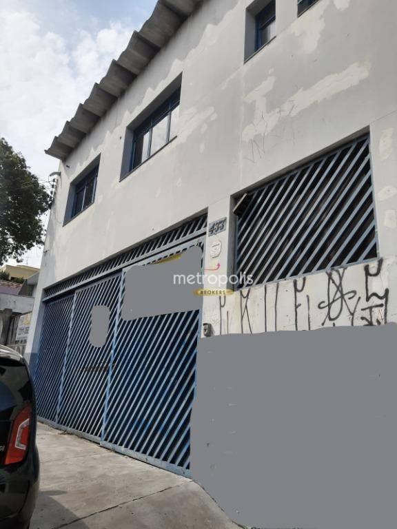 Galpão com 500 m² para venda e locação  - Santa Maria - São Caetano do Sul/SP