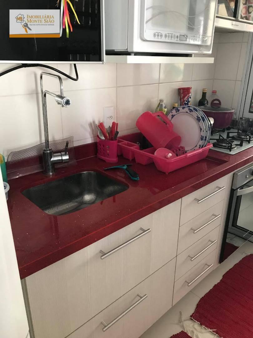 Apartamento com 3 dormitórios à venda, 55 m² por R$ 265.000 - Vila Venditti - Guarulhos/SP