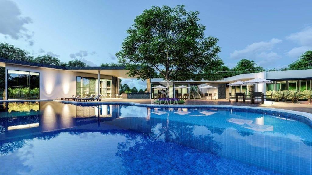 Lote à venda, 405 m², Jardins Terra Brasilis, condomínio fechado, financia- Centro ? Aquiraz/Ce
