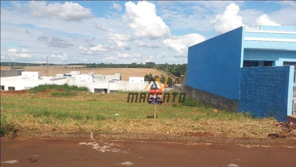Terreno à venda, 250 m² por R$ 97.000 - Floresta - Cascavel/PR