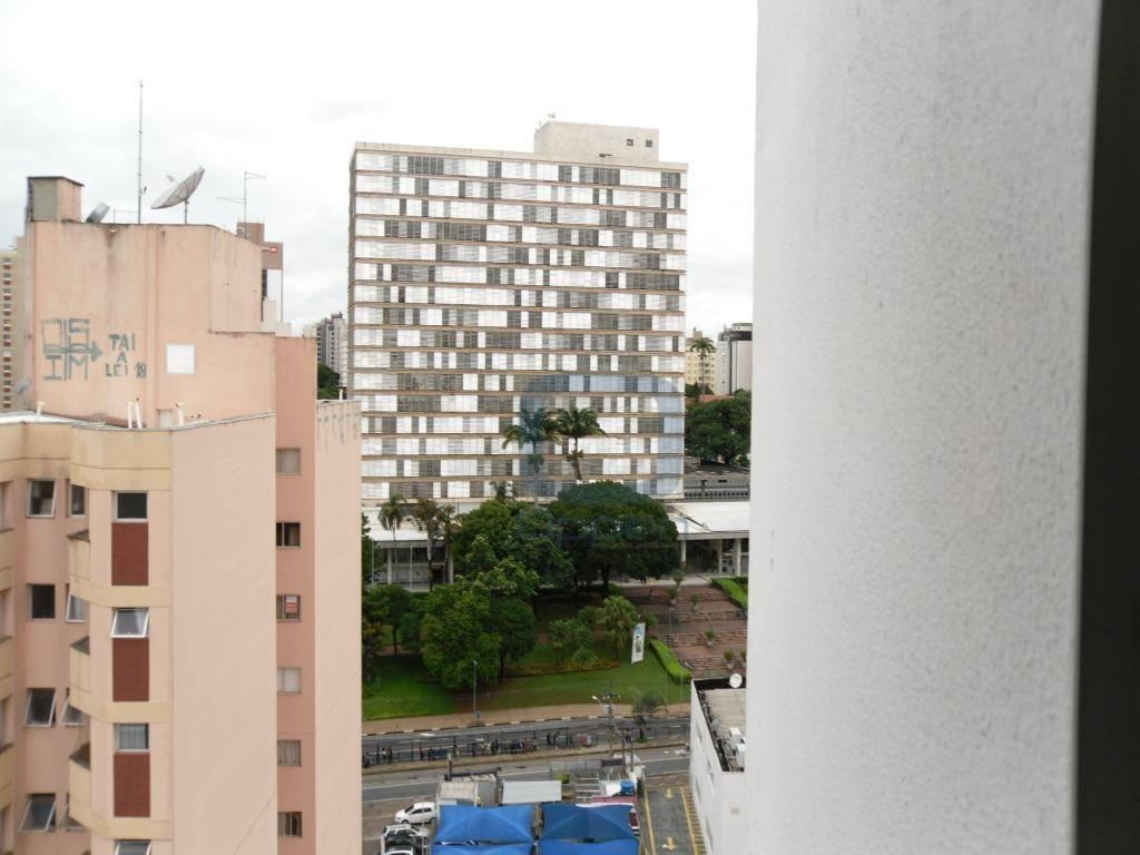 Kitnet com  garagem à venda, 40 m² por R$ 170.000 - Centro - Campinas/SP