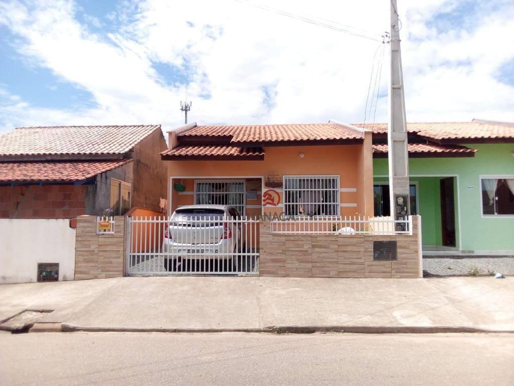 Casa com 2 dormitórios à venda, 54 m² por R$ 167.700 - São Cristóvão - Barra Velha/SC