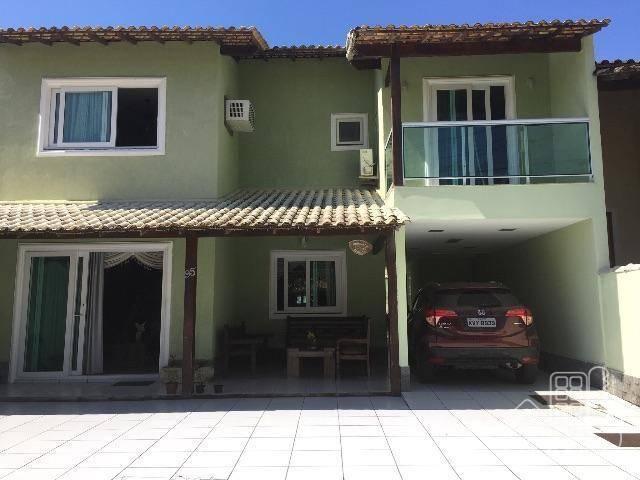 Casa com 4 dormitórios à venda, 201 m² por R$ 990.000 - Várzea das Moças - Niterói/RJ