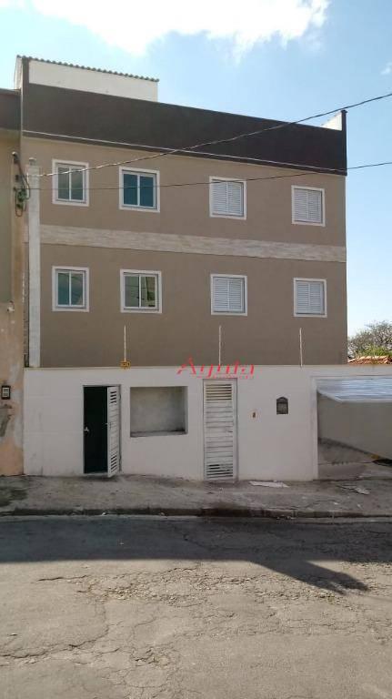 Apartamento residencial à venda, Vila Guaraciaba, Santo André.