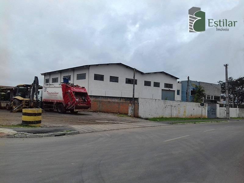 Barracão comercial para locação, Costeira, São José dos Pinh
