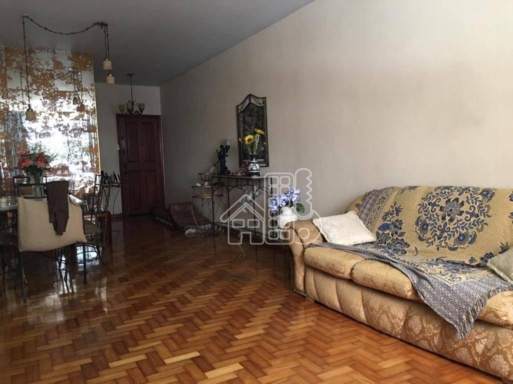 Apartamento com 3 dormitórios à venda, 110 m² por R$ 950.000 - Icaraí - Niterói/RJ