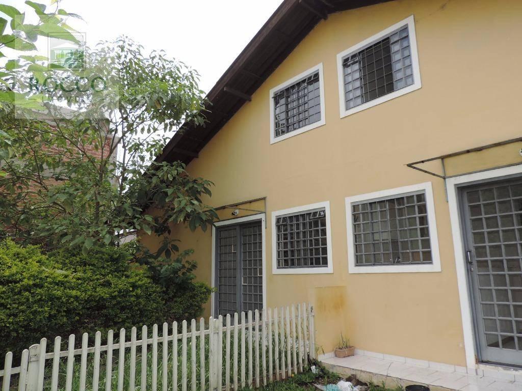 Sobrado residencial para locação, Bacacheri, Curitiba.