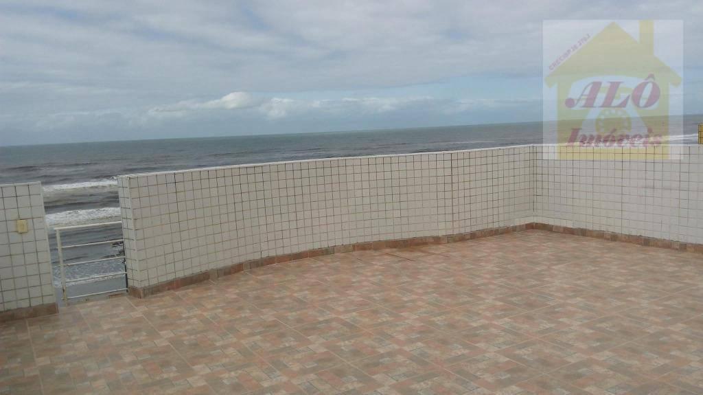 Apartamento com 2 dormitórios à venda, 56 m² por R$ 260.000 - Centro - Mongaguá/SP