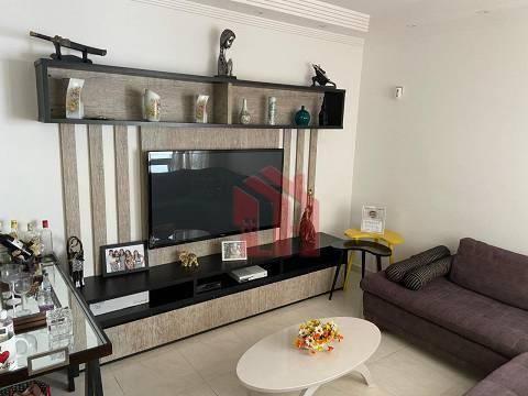 Sobrado com 3 dormitórios à venda, 107 m² por R$ 756.000,00 - Campo Grande - Santos/SP