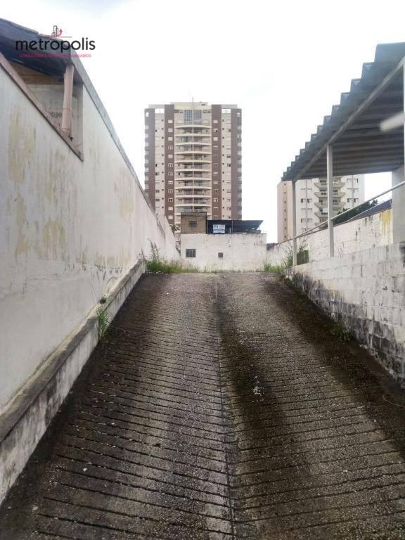 Terreno à venda, 500 m² por R$ 1.800.000,00 - Santa Paula - São Caetano do Sul/SP