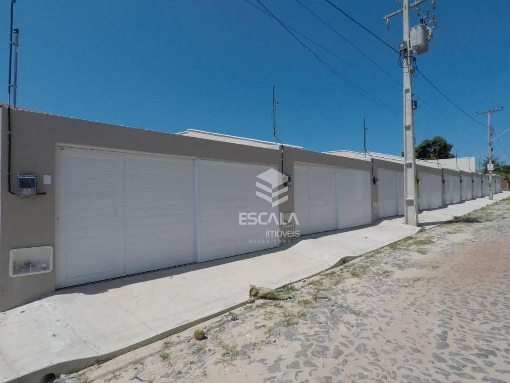 Casa com 3 quartos à venda, 80 m², 3 vagas, quintal, nova, financia - Mangabeira - Eusébio/CE