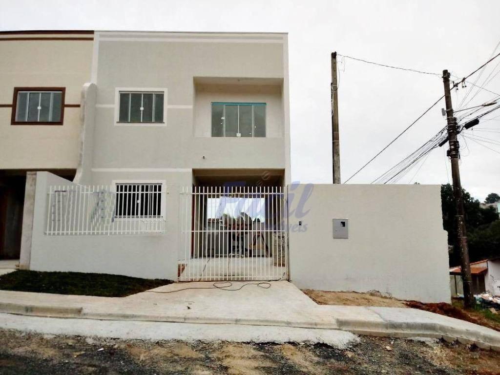 Sobrado residencial à venda, Ronda, Ponta Grossa.