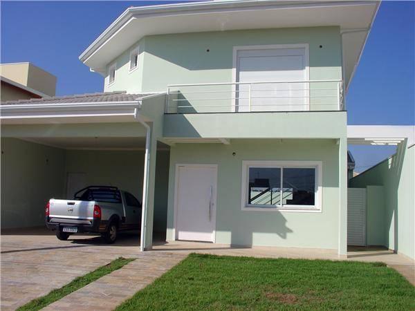Casa 4 Dorm, Condomínio Residencial Manacás, Paulinia (CA0034)