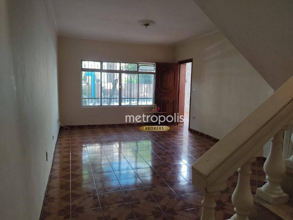 Sobrado com 3 dormitórios para alugar, 170 m² por R$ 2.900,00/mês - Santa Maria - São Caetano do Sul/SP