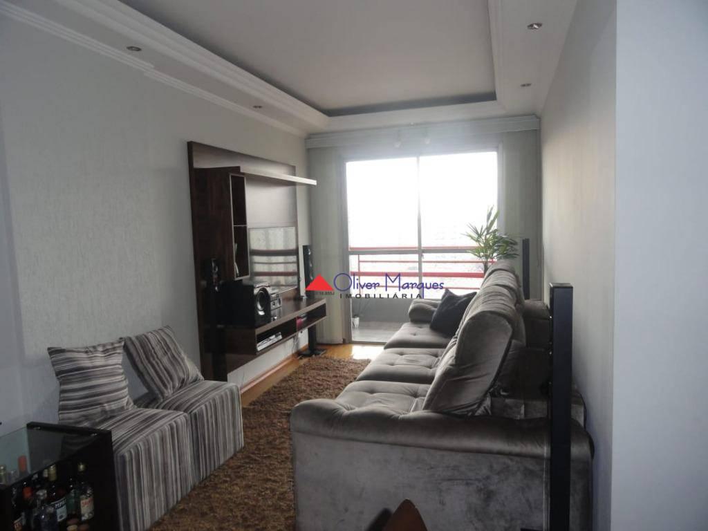 Apartamento residencial à venda, Vila Osasco, Osasco - AP6193.