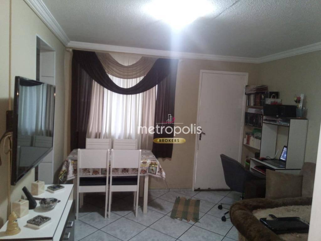 Apartamento com 2 dormitórios à venda, 51 m² por R$ 200.000 - Alves Dias - São Bernardo do Campo/SP