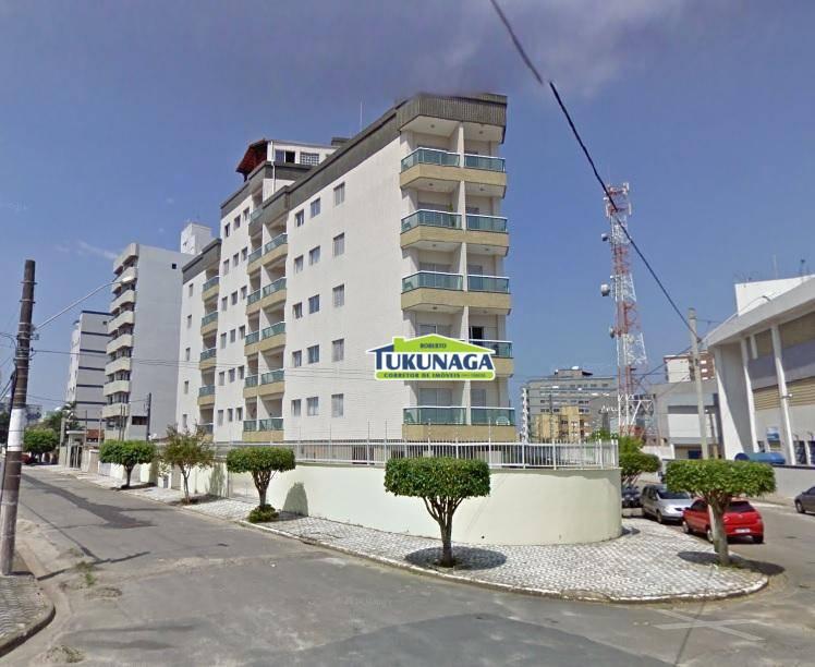 Apartamento Mobiliado no Condomínio Edifício Lumar à venda, Vila Caiçara, Praia Grande.