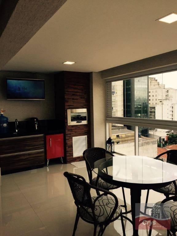 maravilhoso apartamento em santana com 130 m² ,sendo 03 suítes encantadoras com papel de parede ,...