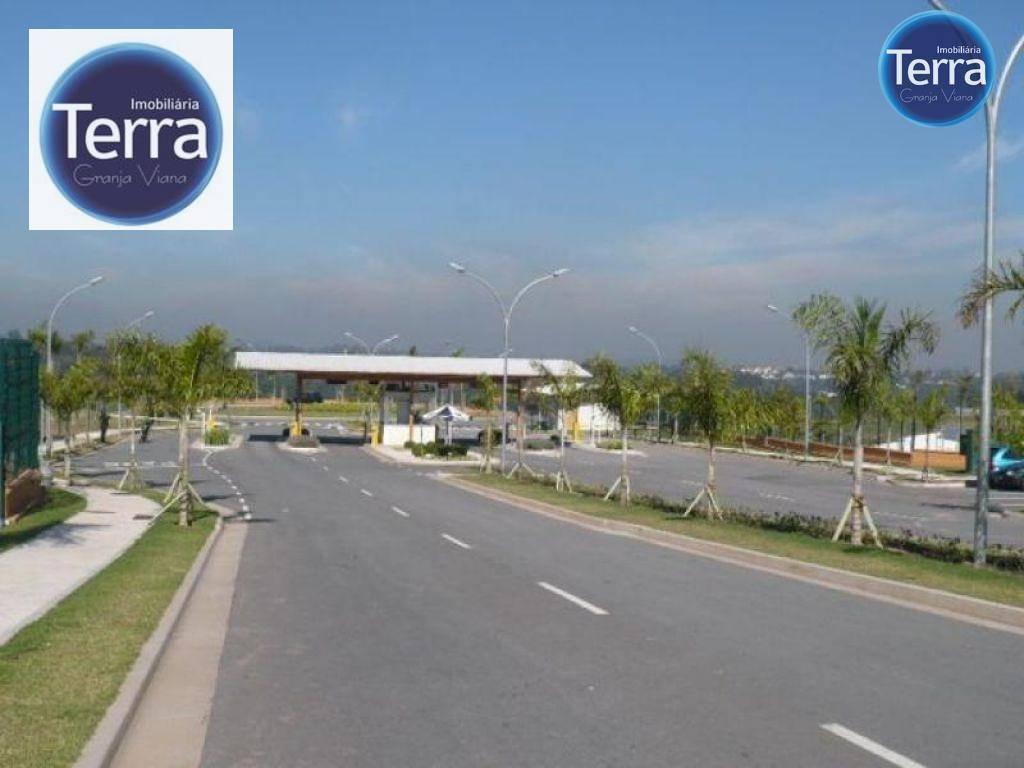 Terreno residencial à venda, Alphaville Granja Viana, Granja Viana.