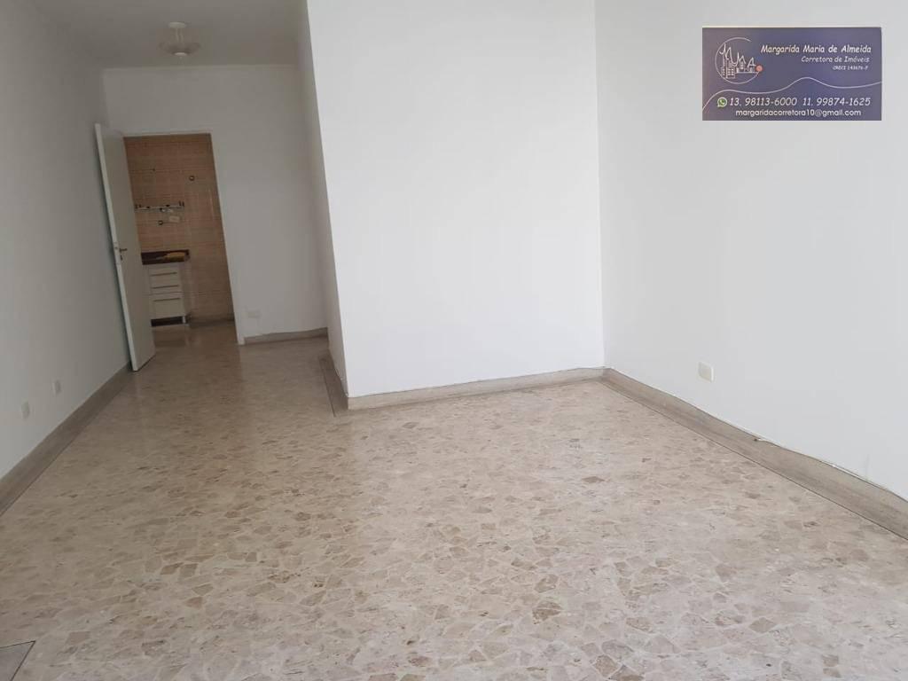 Apartamento 2 dormitórios à venda,vista ao mar lateral - Ponta da Praia - Santos/SP