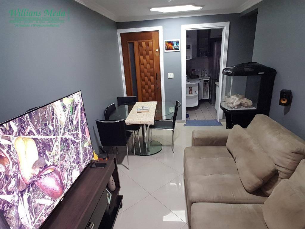 Apartamento 2 dormitórios, 1 vaga , Jardim Testae, Guarulhos