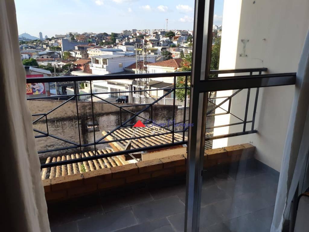 Apartamento com 2 dormitórios à venda, 60 m² por R$ 242.000 - Jardim D Abril - Osasco/SP