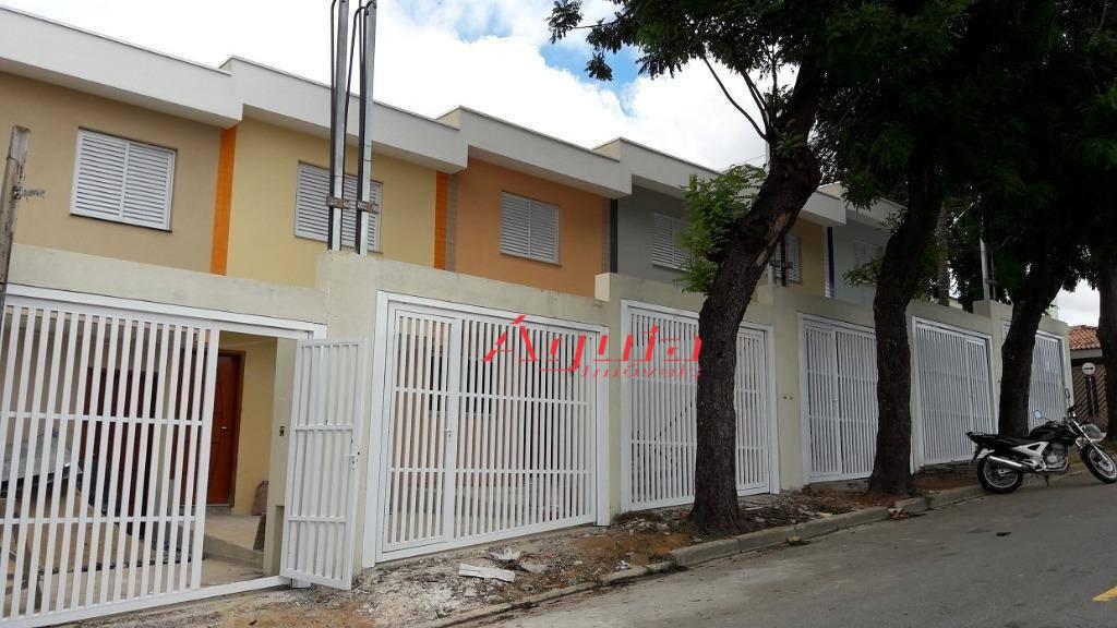 Sobrado à venda, 50 m² por R$ 270.000,00 - Vila Metalúrgica - Santo André/SP