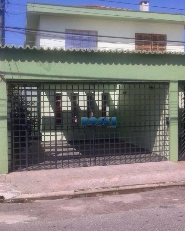 Sobrado residencial para locação, Vila Zelina, São Paulo.