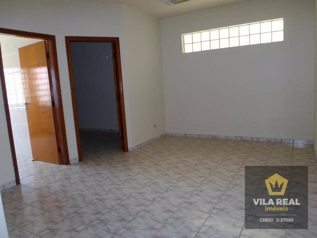 Sala comercial para locação, Centro, Artur Nogueira.