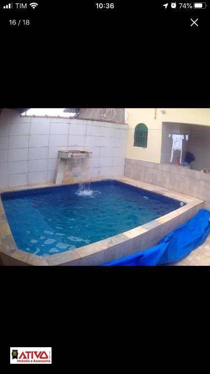 Casa com 3 dormitórios à venda, 175 m² por R$ 250.000 - Vila Atlântica - Mongaguá/SP