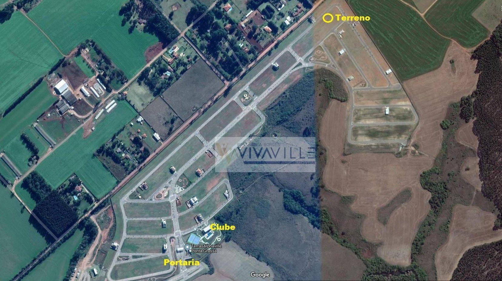 Terreno à venda, 302 m² por R$ 160.000 - Jardim Carvalho - Ponta Grossa/PR